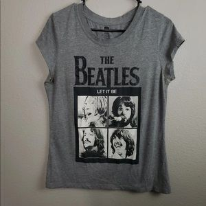 Beatles gray top